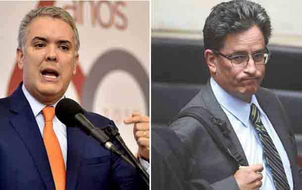 Presidente Iván Duque aceptó la renuncia del ministro de Hacienda Alberto Carrasquilla