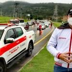 Más de 36.000 mil vehículos ingresaron hoy lunes 14 de junio por la Autopista Sur en Soacha