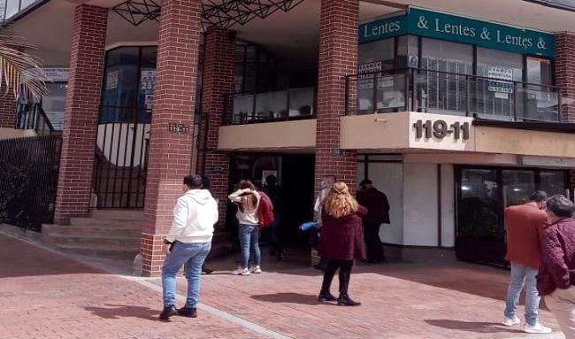 Asaltaron 46 oficinas y consultorios en el sector de Unicentro en la localidad de Usaquén