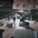 Noche de pánico en Suba: se tomaron conjunto residencial en medio de disturbios
