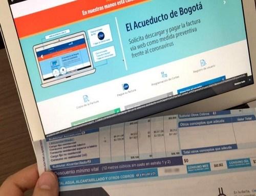 23 mil usuarios del acueducto de Bogotá ya se pasaron a la factura virtual