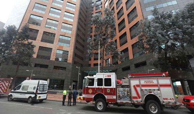 ¡Última hora! Reportan una explosión dentro de un apartamento en Chapinero, Bogotá