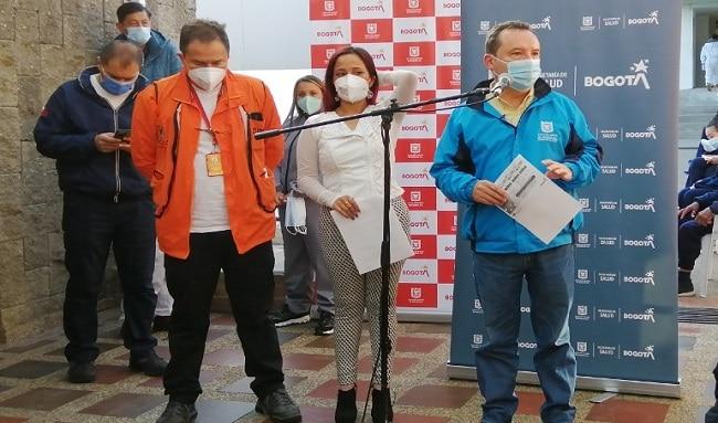 Bogotá avanza en la vacunación de personas en habitabilidad de calle