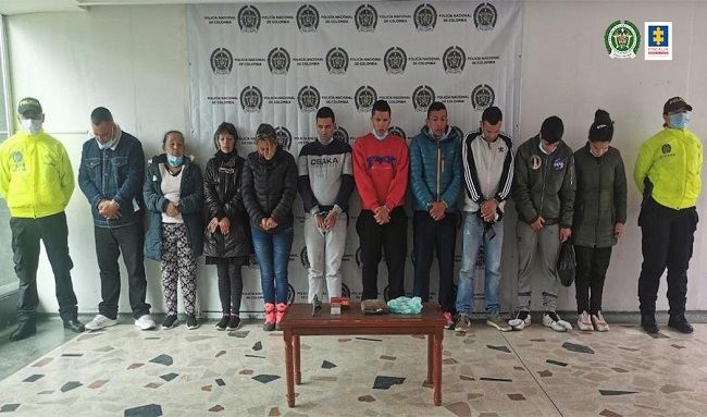 Judicializan a 11 presuntos integrantes de la banda delincuencial Génesis