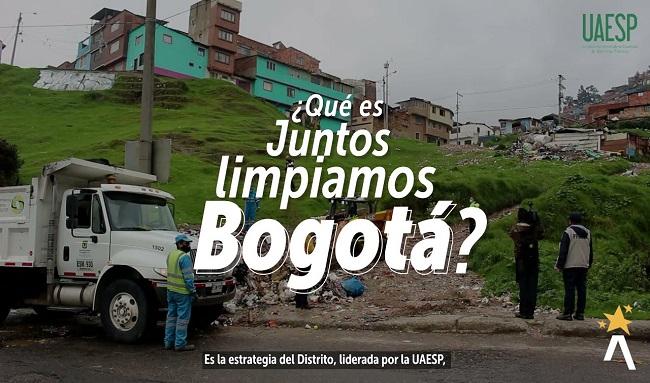 """""""Juntos limpiemos Bogotá"""": campaña que se adelantará el próximo 28 y 30 julio en Suba"""