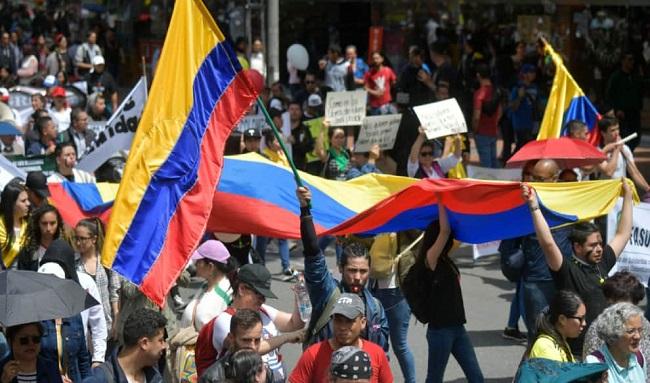 Vías que estarán cerradas en el centro de Bogotá este 20 de julio