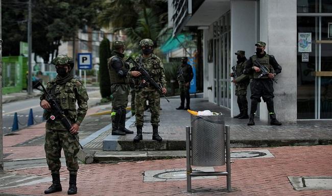 Conozca los puntos en los que militares harán patrullajes para reforzar seguridad en las 20 localidades de Bogotá