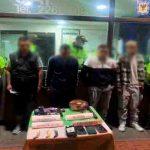Duro golpe a la delincuencia en Suba, cuatro capturados por hurtar a usuarios del sistema de transporte público