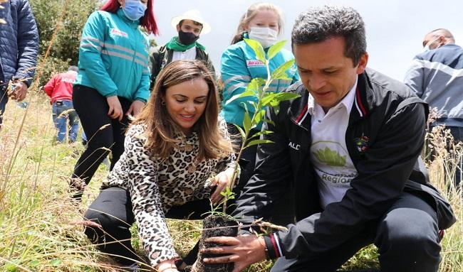 """""""La responsabilidad de cuidar el Páramo Cruz Verde - Sumapaz, que le pertenece al mundo, nos corresponde a nosotros"""", alcalde de Soacha, Juan Carlos Saldarriaga"""