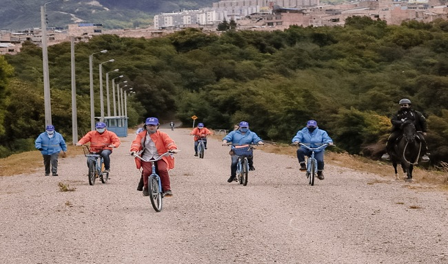 Parque Ecológico Cantarrana se llena de árboles y bicicletas