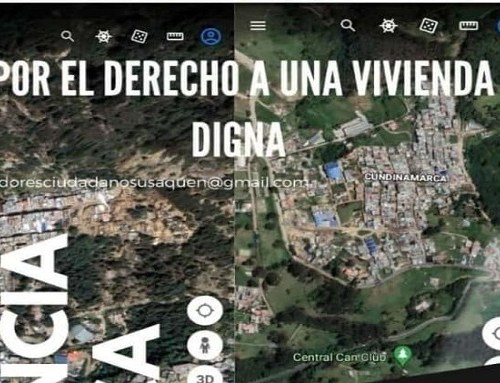 Veeduría Ciudadana invita a la audiencia pública por familias que perdieron sus viviendas en Usaquén