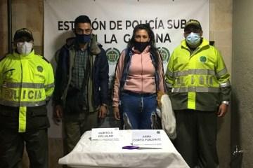 Capturadas dos personas por hurto de un celular a menor de edad en el barrio Comuneros Suba