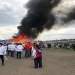Grave emergencia en Bogotá por incendió, El humo ha alcanzado varias cuadras