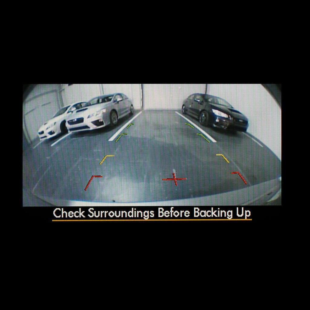 Subaru Rear and Front View Cameras
