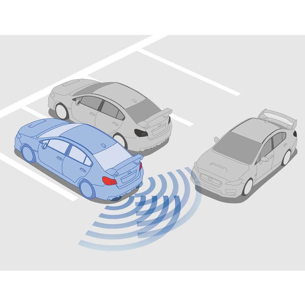 Subaru Traffic Warning