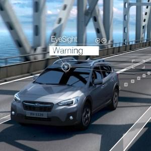 EyeSight Lane Sway & Departure Warning