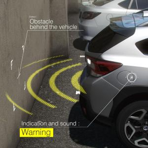 Subaru Rear Vehicle Detection