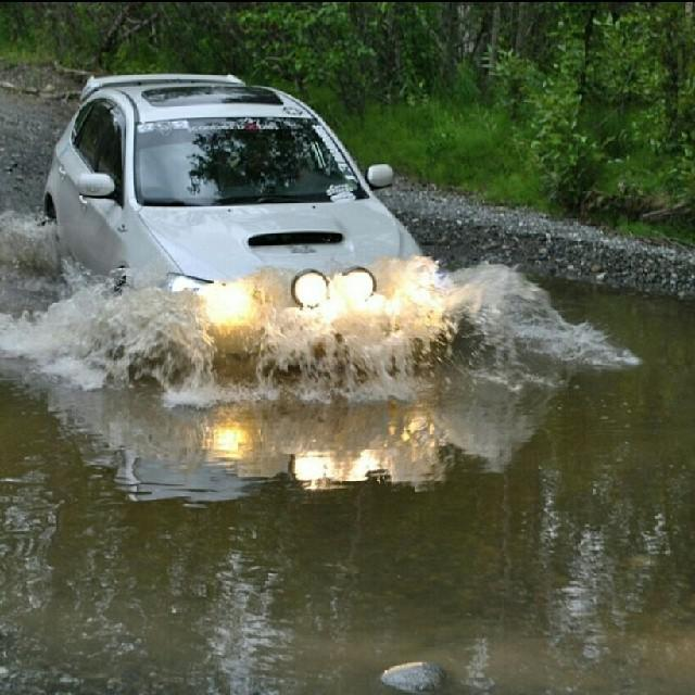 Subaru Photo Of The Day - Rally River Crossing
