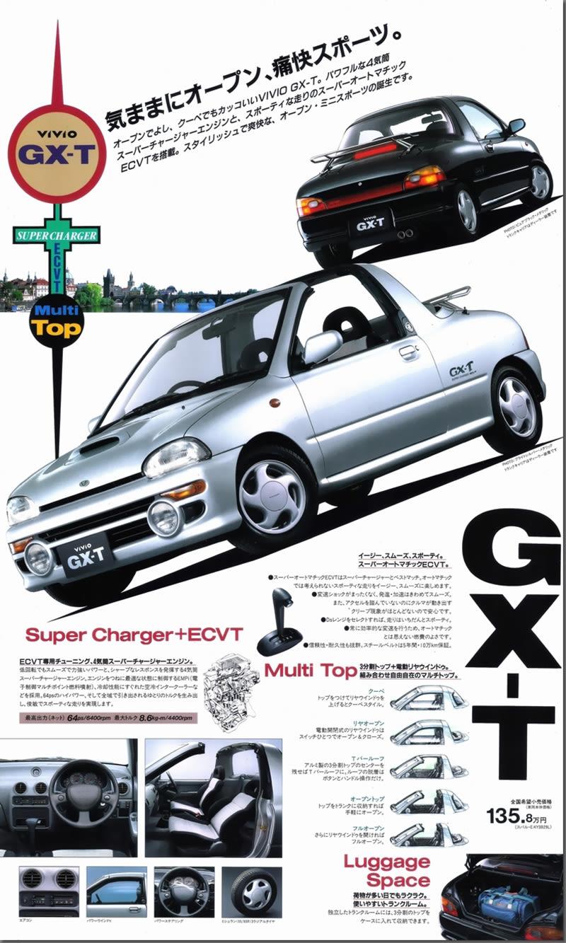 Subaru Vivio T-Top