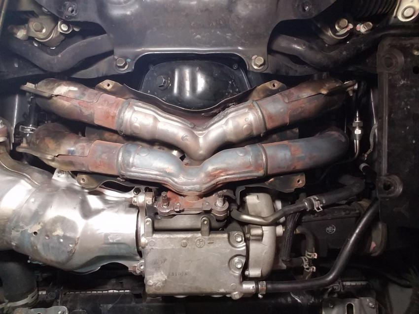 14 18 removing exhaust manifold