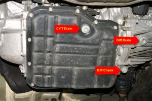 2011 25i CVT and Differential Fluid Change  Subaru Outback  Subaru Outback Forums