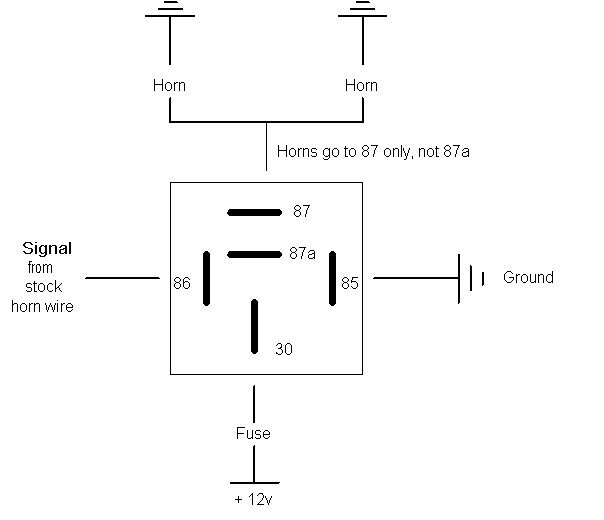 download 12v normally closed relay wiring diagram full hd