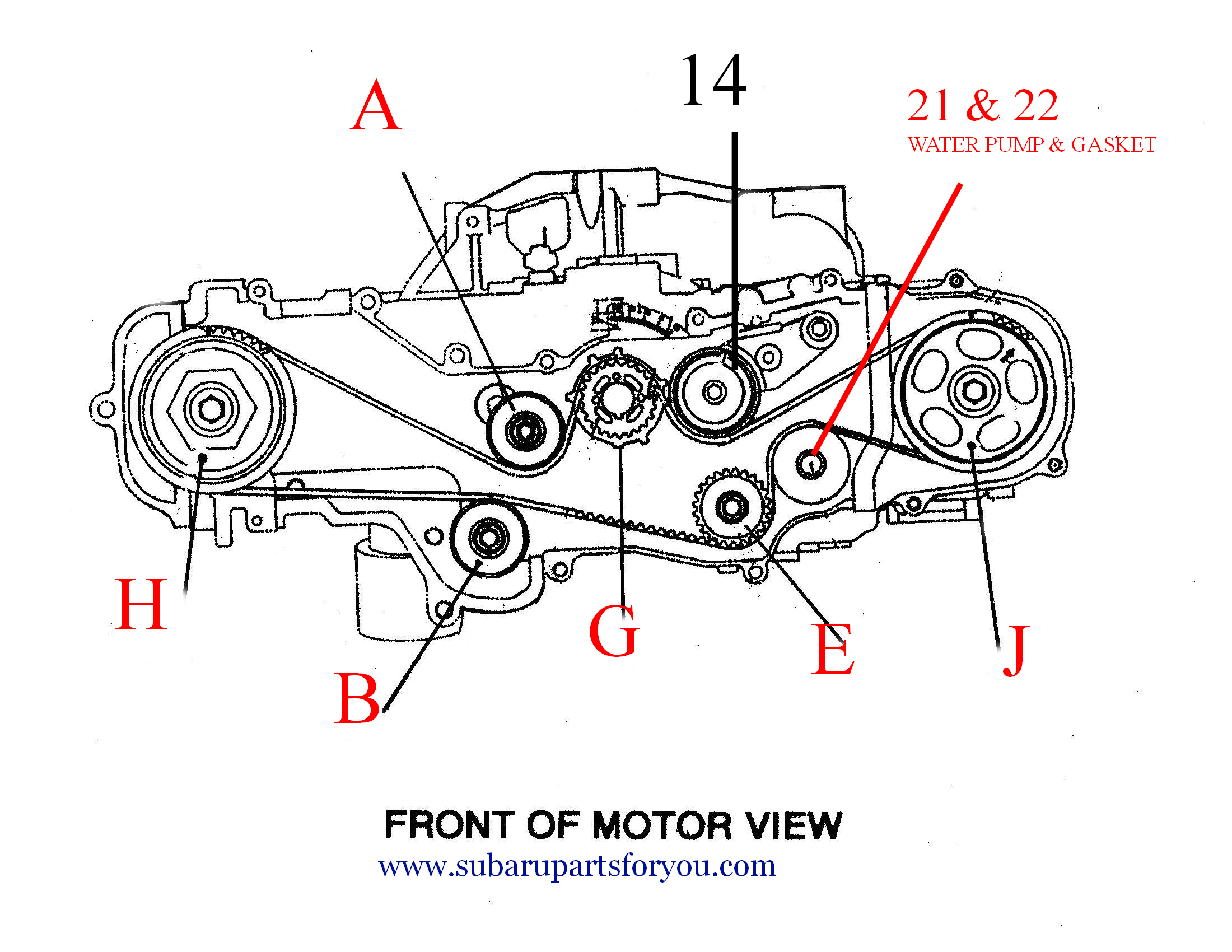 subaru forester engine diagram · crank will only turn 90 deg on my 2 5