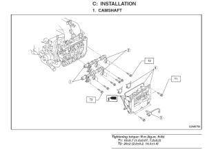 Camshaft cap torque specs wrong in FSM? Apparently, yes, beware!  Subaru Outback  Subaru