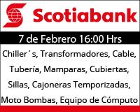 Próxima Subasta Scotiabank