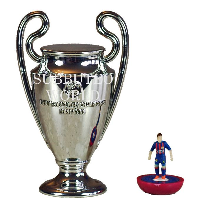 1015. THE UEFA CHAMPIONS LEAGUE TROPHY. 80mm High ...