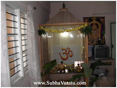 Northeast Vastu Pooja Room Temple Subhavaastu Part 82
