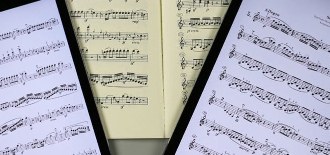 Sheet Music Apps for the tablet, a short guide