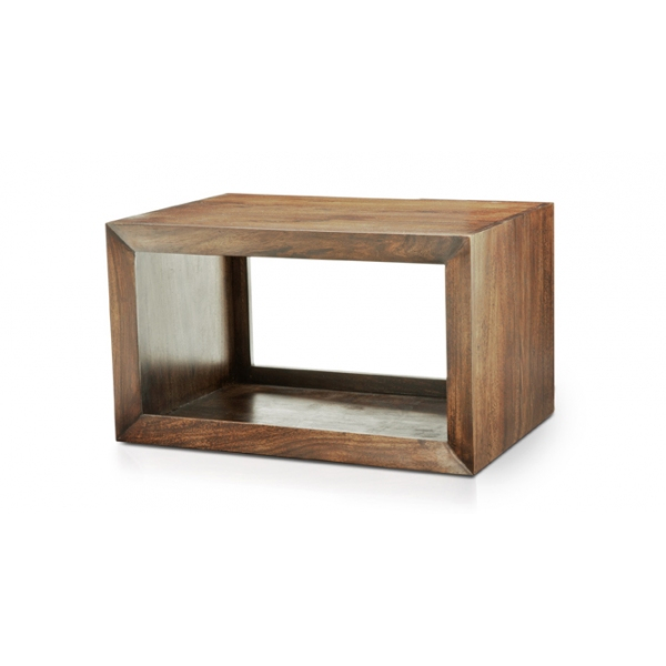 END TABLE – NATURAL WOOD FINISH