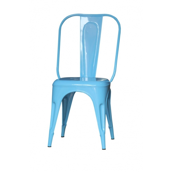 CHAIR VINTAGE LIGHT BLUE