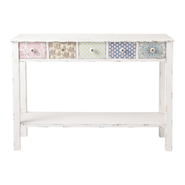 MODERN VINTAGE CONSOLE TABLE