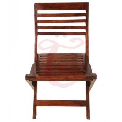 WOOD COMPACT FOLDING CHAIR