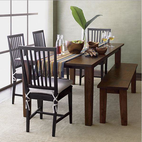 SIX SEATER DINING SET WITH BENCH