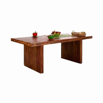 WOOD LOW HEIGHT DINING TABLE