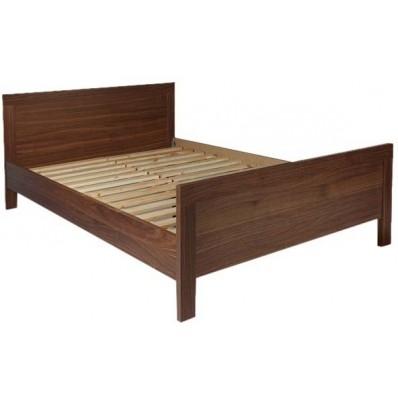 SIMPLISTIC SHEESHAM WOOD DOUBLE BED