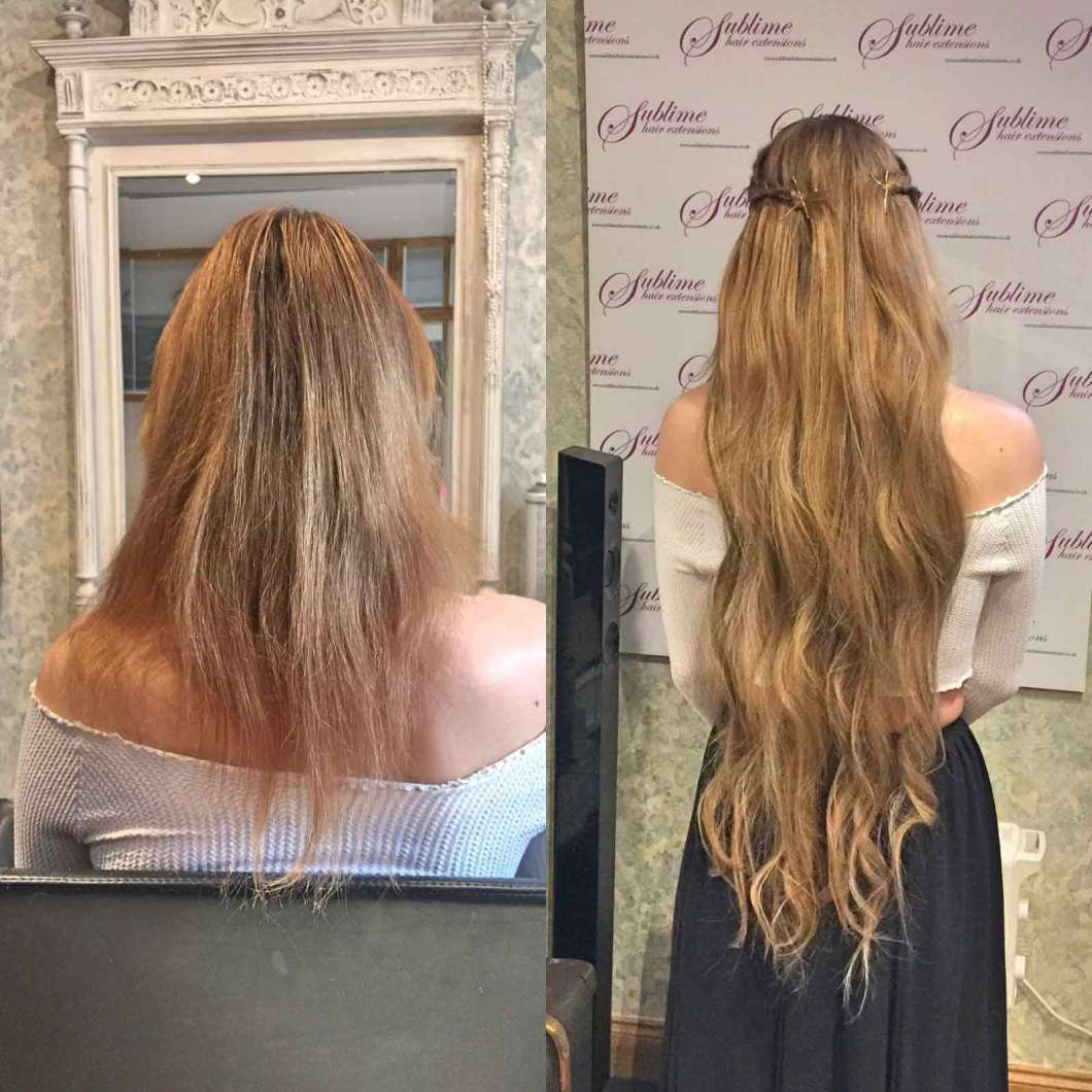 Diy Hot Fusion Hair Extensions Hairstly