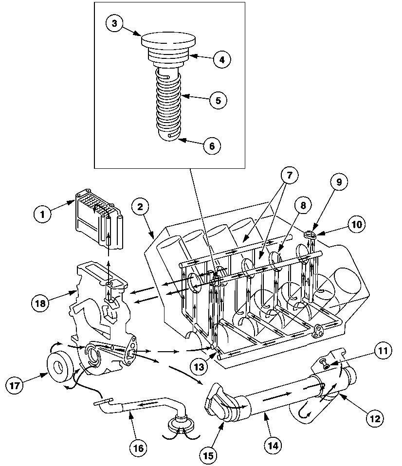 Glow plug wiring diagram oil system