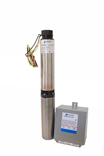 "Goulds 10SB05412C 4"" Submersible Water Well Pump, 10 GPM, ½ HP, 7 Stages, 3 Wire, 230 V Control Box is INCLUDED."