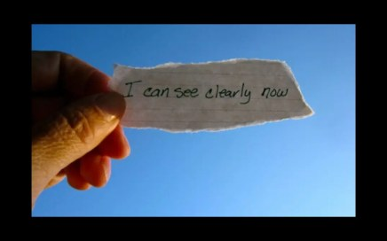 distance - picture of a label saying I can see clearly