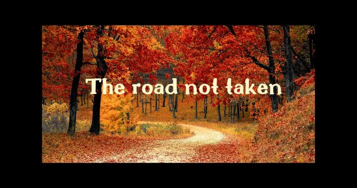 The road not taken