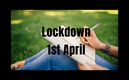 Diary 1st April