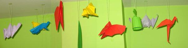 Origami u sobi