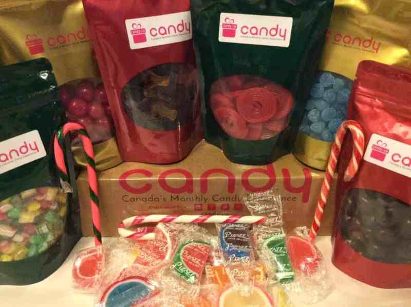 Candy.ca Subscription Box – December 2016 Review