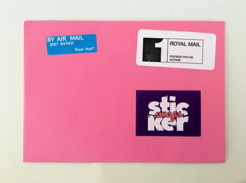 Sticker Swaps Subscription Box – November 2016 Review
