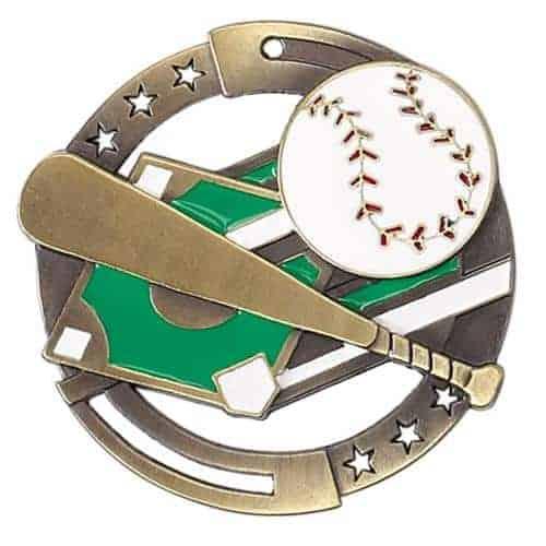 "2-3/4"" M3XL Baseball Medal"