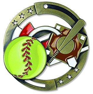 """2-3/4"""" M3XL Softball Medal"""